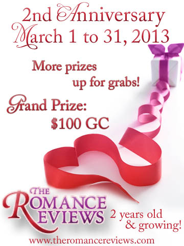 Join Reb in celebrating Thr Romance Reviews' anniversary!